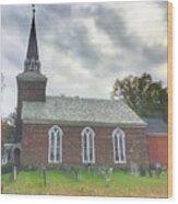 Old Reform Church Wood Print