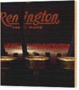 Old Remington Cash Register Wood Print
