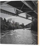 Old Rio Grande Bridge Wood Print