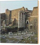 Old Rome Wood Print