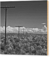 Old Route 66 #2 Wood Print