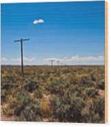 Old Route 66 #5 Wood Print