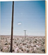 Old Route 66 #6 Wood Print