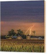 Old Rte 66 Lightning 8 48 16 P Wood Print
