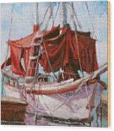 Old Salt Wood Print