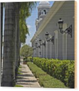 Old San Juan Puerto Rico Wood Print