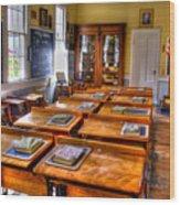 Old School Wood Print