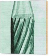 Old Soda Bottle One Wood Print