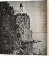Old Split Rock Lighthouse Wood Print