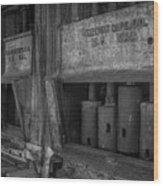 Gray's Stamp Mill Wood Print