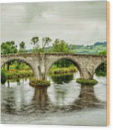 Old Stirling Bridge Wood Print
