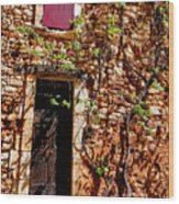 Old Stone House In Provence Wood Print