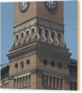 Old Tacoma City Hall Wood Print
