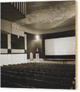 Old Theater 2 Wood Print