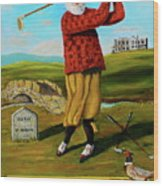 Old Tom Morris Wood Print