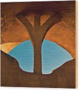 Old Town Archway No. 1 Wood Print
