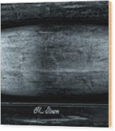 Old Town Canoes Wood Print
