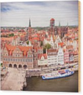 Old Town Gdansk Wood Print