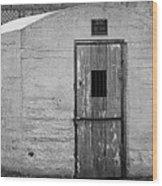 Old Town Jail Wood Print