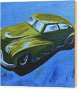 Old Toy Car Wood Print
