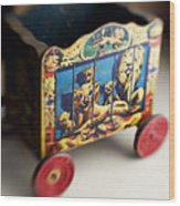 Old Toy Wood Print