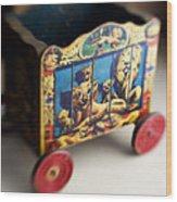 Old Toy Wood Print
