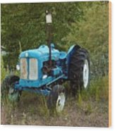Old Tractor 3 Wood Print