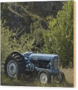 Old Tractor 5 Wood Print