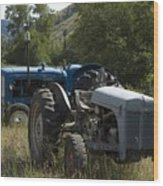 Old Tractor 7 Wood Print