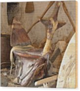 Old Tradtional Libyan Tools Wood Print