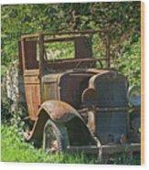 Old Truck II C1002 Wood Print