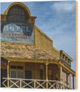 Old Tucson Saloon Wood Print
