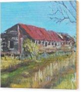 Old Turkey House Wood Print