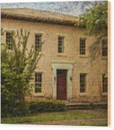 Old Tuscaloosa Jail Wood Print