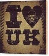 Old Uk Wood Print