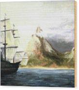 Old Vessel Wood Print