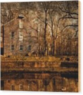 Old Village - Allaire State Park Wood Print