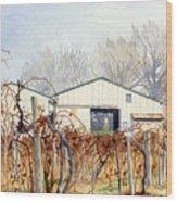 Old Vines Wood Print