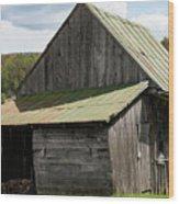 Old Virginia Barn Wood Print