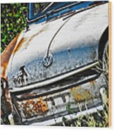 Old Vw Wood Print