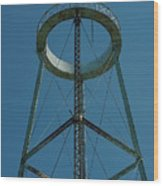 Old Watertower  Wood Print