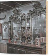 Old West Saloon Wood Print
