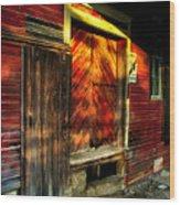 Old Williams Indiana Feed Mill Wood Print