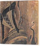 Old Wine Wood Print