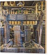 Old Wine Press 2 Wood Print