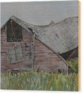 Old Wisconsin Barn Wood Print