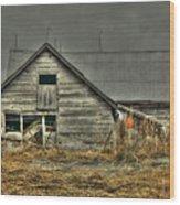 Old Wood Barn Wood Print