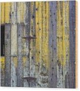 Old Wooden Barn Wood Print