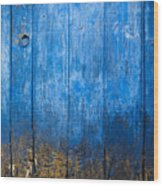 Old Wooden Door Wood Print