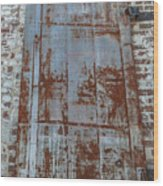Old World Door Wood Print
